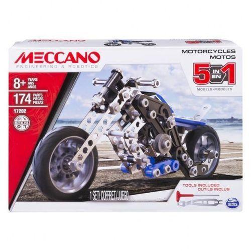 Spin master Meccano model 5 w 1 motocykl izimarket.pl