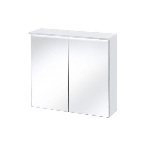 Szafka wisząca z lustrem + led 80 cm active marki Comad