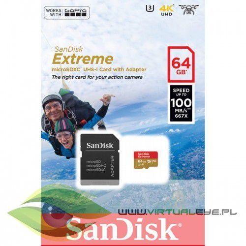 Extreme microSDXC 64GB 100/60 MB/s A1 V30 GoPro