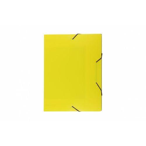 Biurfol Teczka skrzydłowa z gumką tg-03-04 żółta