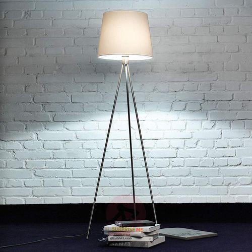 Lampa stojąca PICO na trójnogu, matowa niklowa (4250035818095)