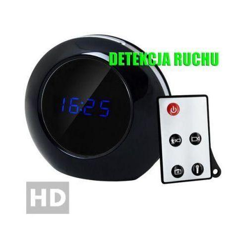 Spy electronics ltd. Szpiegowski zegar biurkowy z lcd, nagrywający obraz hd + dźwięk (m.in. na ruch) + ap. foto...