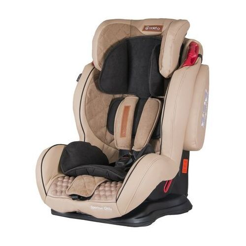 COLETTO SPORTIVO ONLY ISOFIX BEŻ9-36 KG