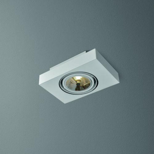 Lampa sufitowa sleek 111x1 distance biały od ręki, 46612-03 marki Aquaform