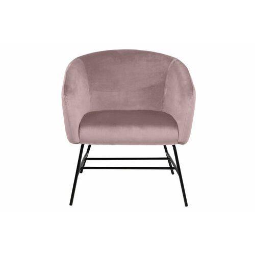 Fotel Ramsey VIC dusty rose to doskonały wybór do eleganckiego wnętrza, 126268