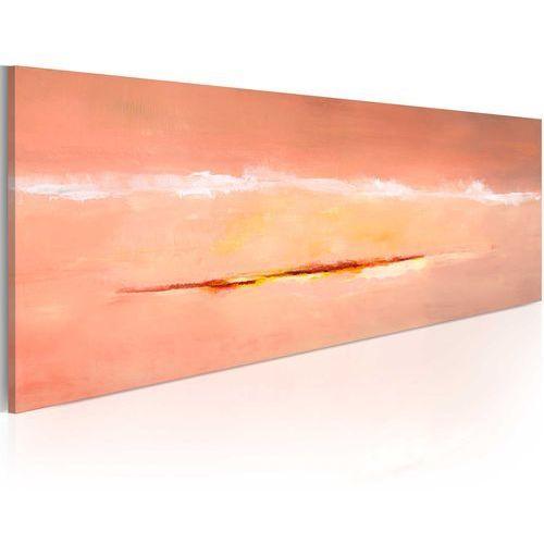Artgeist Obraz malowany - zorza w abstrakcji