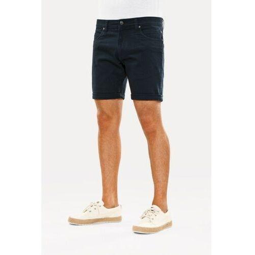 Szorty - palm short navy blue (navy blue) rozmiar: 36, Reell
