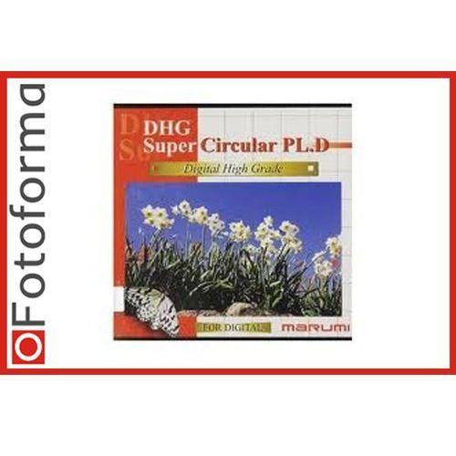 Marumi Filtr polaryzacyjny kołowy CPL 58 mm Super DHG (4957638068093)