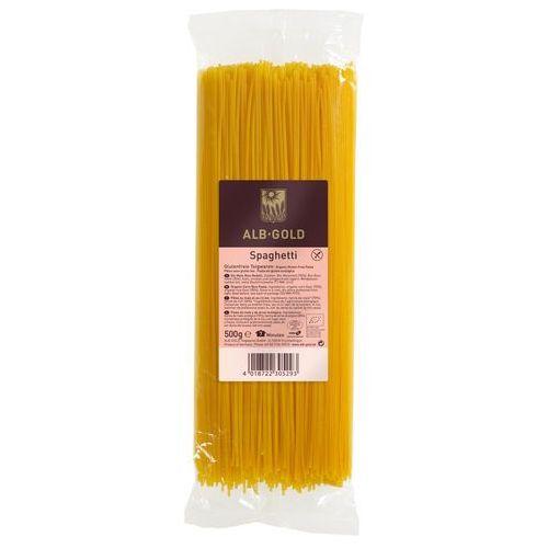 Alb-gold (makarony) Makaron kukurydziano-ryżowy spaghetti bio bg 500g - alb-gold