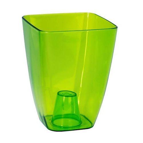 Osłonka plastikowa 13 x 13 cm zielona storczyk marki Form-plastic
