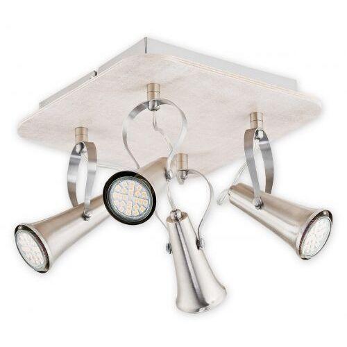 Lemir Dorin led lampa sufitowa (spot) 4-punktowa o2434 p4 sono