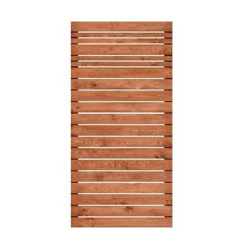 Werth-holz Płot ażurowy 90x180 cm drewniany goteborg wiśnia