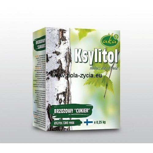 KSYLITOL cukier brzozowy - naturalna słodycz dla zdrowia (250 g) z kategorii Cukier i słodziki