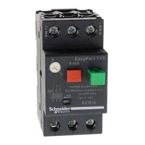 Schneider electric Wyłącznik silnikowy magneto-termiczny zakres 9-14a gz1e16  (3606480567872)