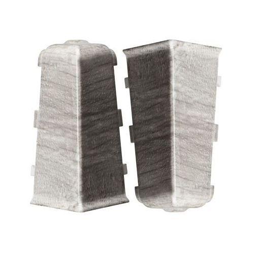 Arbiton Narożnik zewnętrzny do listwy przypodłogowej indo dąb bolton 2 szt. (5905167799024)