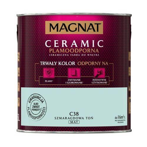 Farba magnat ceramic szmaragdowa toń 2,5 l marki Śnieżka