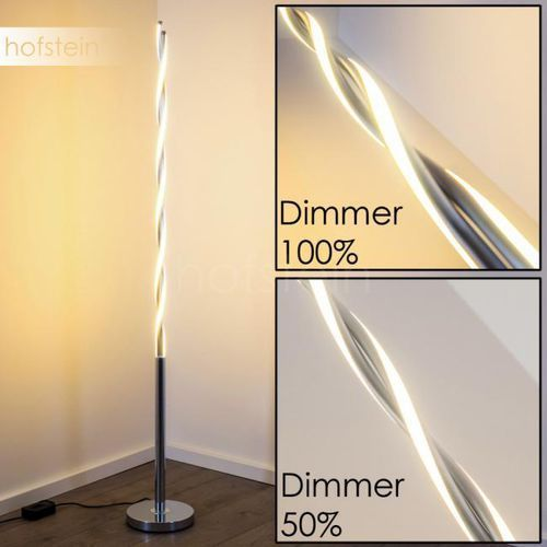 Trio portofino lampa stojąca led chrom, 2-punktowe - nowoczesny - obszar wewnętrzny - portofino - czas dostawy: od 2-4 dni roboczych (4017807298956)