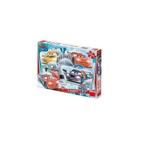 Puzzle auta na lodzie 4x54 dino marki Dino toys