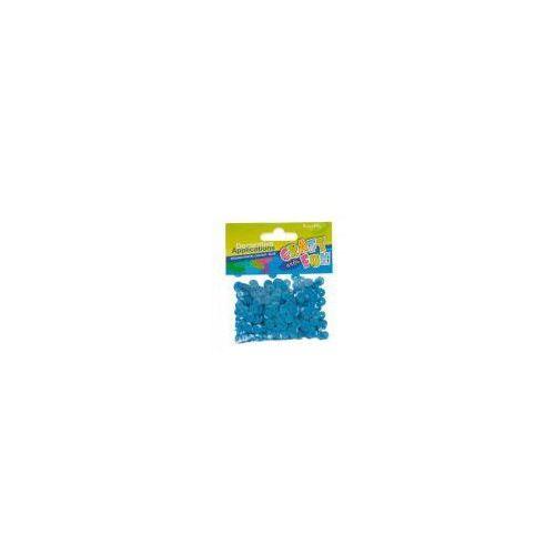 Cekiny metaliczne kółka 8mm niebieskie (5902012798430)