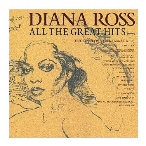 ALL THE GREATEST HITS - Diana Ross (Płyta CD), 1596382