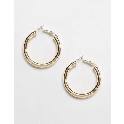 Liars & Lovers gold tube hoop earrings - Gold