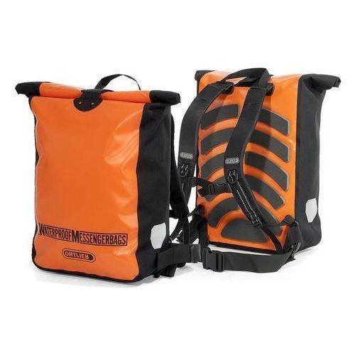Ortlieb Plecak rowerowy messenger bag orange-black 30l (4013051019767)