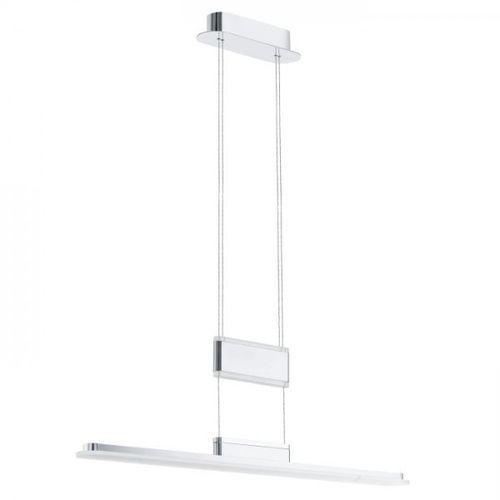 LAMPA wisząca ARMEDO 92795 Eglo metalowa OPRAWA listwa LED 30W IP20 chrom biały, 92795