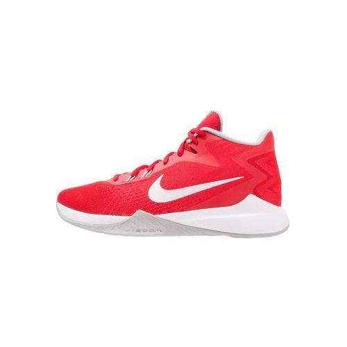 Nike Performance ZOOM EVIDENCE Obuwie do koszykówki university red/white/wolf grey, 852464