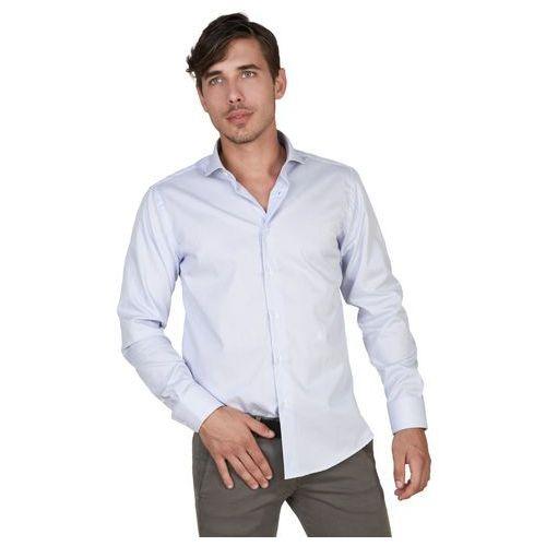 Koszula męska TRUSSARDI - 32C02SINT-85, kolor niebieski