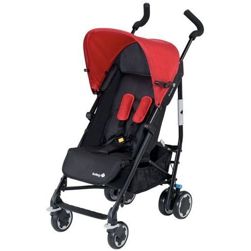 Safety 1st Wózek Compa City, czarno-czerwony, 12609450