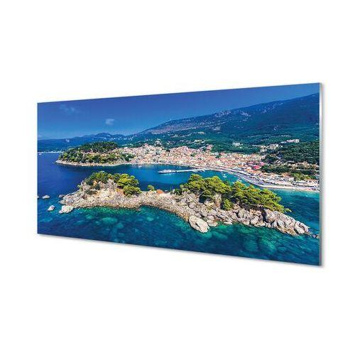 Obrazy akrylowe grecja panorama miasto morze marki Tulup.pl