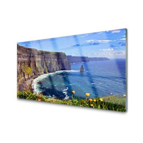 Obraz Akrylowy Zatoka Skały Morze Krajobraz