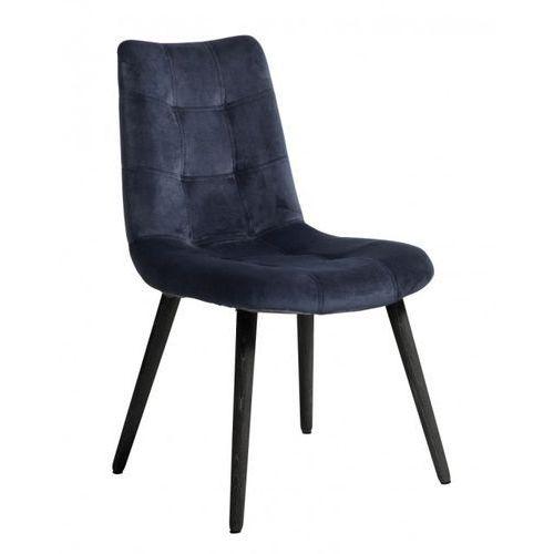 Krzesło obiadowe aksamitne