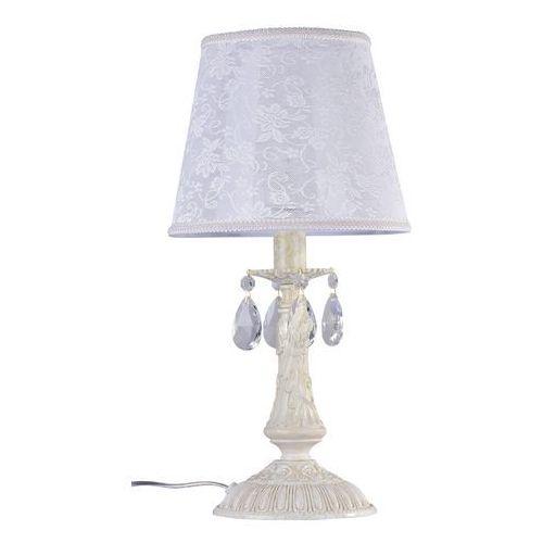 Lampa stołowa Filomena z koronkowym kloszem (4260361989796)