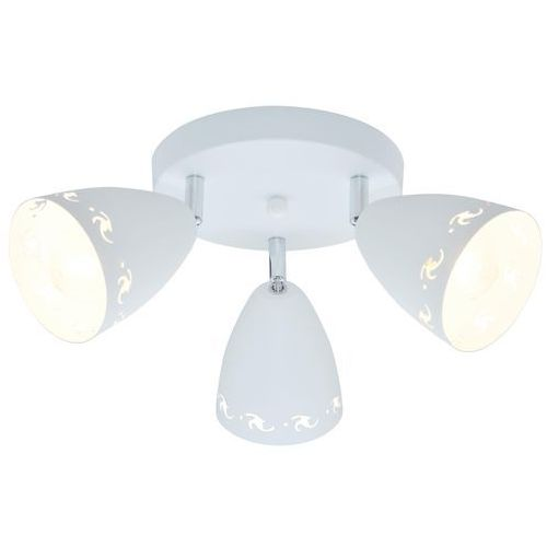 Candellux Plafon lampa sufitowa spot coty 3x40w e14 biały mat 98-67135
