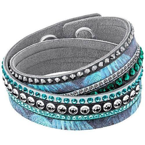 slake print bracelet, multi-colored dark multi stainless steel wyprodukowany przez Swarovski