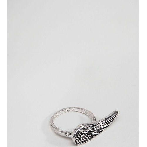Designb london Designb silver wing ring exclusive to asos - silver