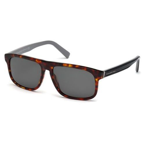 Okulary Słoneczne Ermenegildo Zegna EZ0003 Polarized 54D, kolor żółty