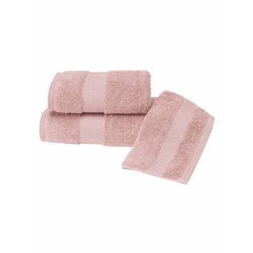 Zestaw podarunkowy małych ręczników deluxe stary róż marki Soft cotton