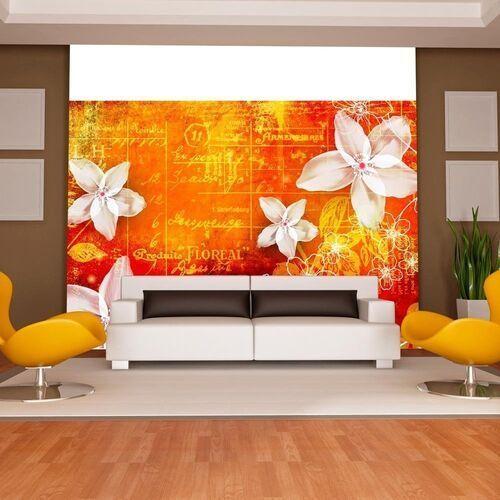 Fototapeta - floral notes ii marki Artgeist