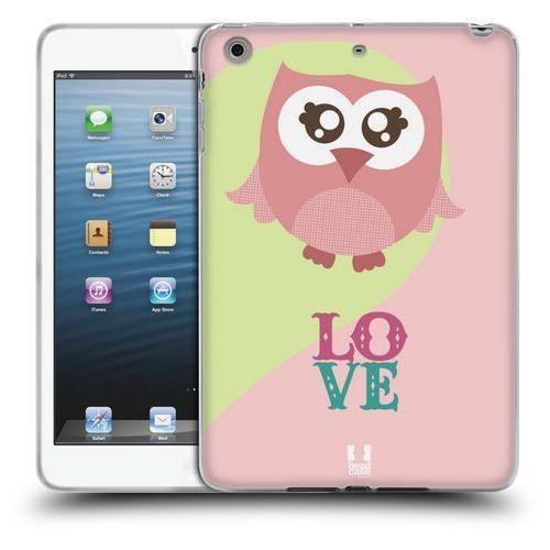 Etui silikonowe na tablet - kawaii owl pink love od producenta Head case