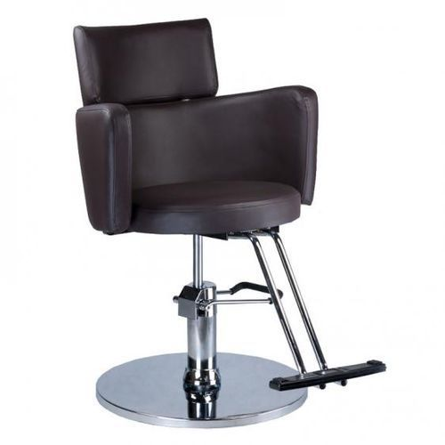 Fotel fryzjerski LUIGI brązowy z kategorii Akcesoria fryzjerskie