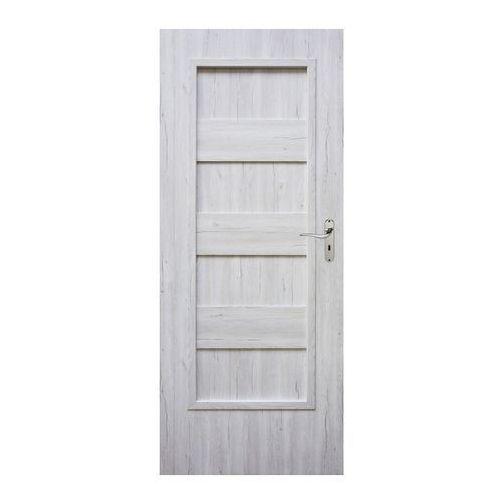 Winfloor Drzwi pełne kastel 90 lewe silver
