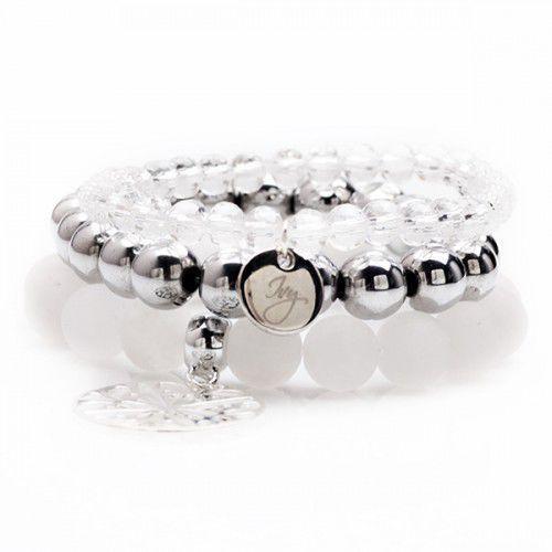 Bransoletka srebrna z naturalnymi kamieniami - sprawdź w wybranym sklepie