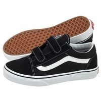 Vans Buty old skool v black/true white vvhe6bt (va173-a)