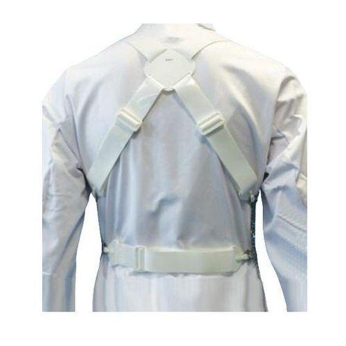 Zestaw szelek do metalowego fartucha ochronnego em 8560, poliuretanowe, białe, kbg60wtpu marki Euroflex