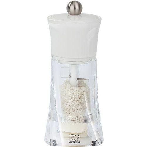 Akrylowy młynek do wilgotnej soli morskiej 14cm molene (pg-30391) marki Peugeot