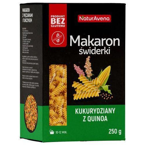 Naturavena Makaron świderki (fusilli) bezglutenowy kukurydziany z quinoa 250g - (5902367406790)