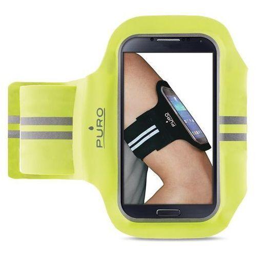 """Puro  armband - uniwersalna sportowa opaska na ramię do smartfonów max 5.1"""" (limonkowy)"""