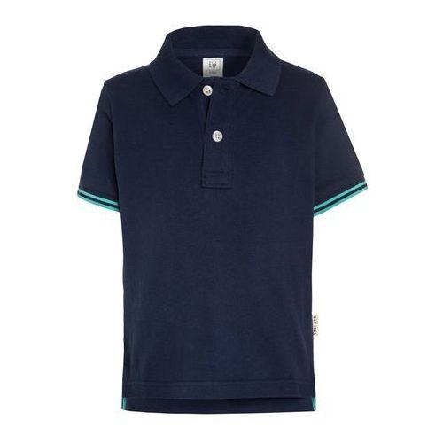 GAP Koszulka polo elysian blue, kolor niebieski